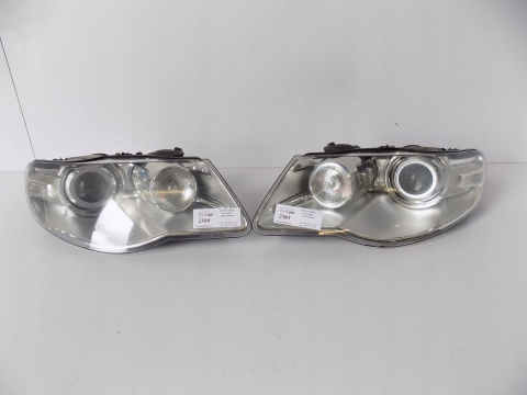 VW Touareg Xenon Swivel Lamp Set L / R - 2503/04