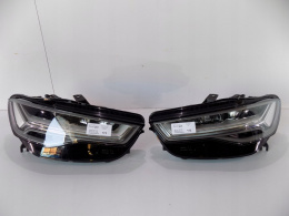 Audi A6 LCI Lamps L/R FULL LED - 0172 / 0173