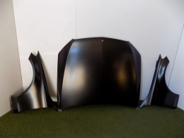 Mercedes W205 -Mask / Engine cover -3708