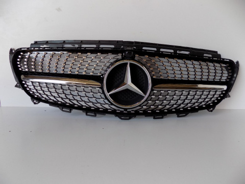 Mercedes W213 - Dummy / Grill Black - 3753
