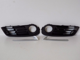 BMW 5 F10 LCI-bumper bars, grating (set)-4078, 4079, 4080, 4081