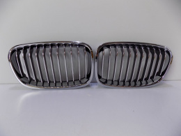 BMW 1 F20/21 Kidney Set / Bumper Grill - 4112