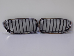 BMW 3 F30/31 Kidney Set / Bumper Grill - 3823