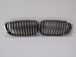 BMW 5 F10/11 Kidney Set / Bumper Grill - 3816
